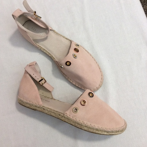 Kenneth Cole Pink Leather Rose Gold Size 8.5 NWOT